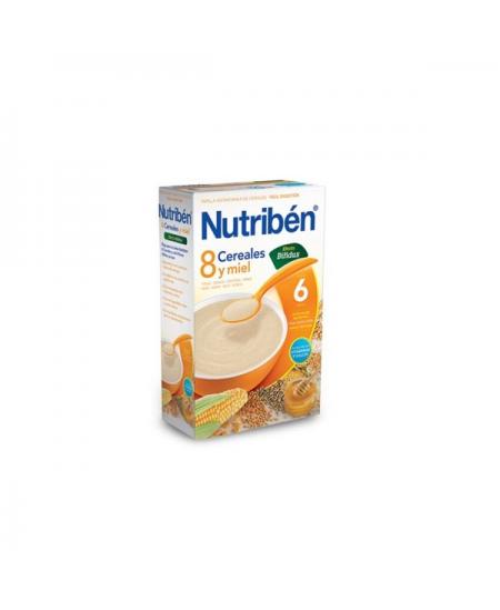 PAPILLA NUTRIBEN 8 CEREALES Y MIEL DIGEST 1 ENVASE 600 G