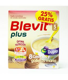 BLEVIT PLUS 8 CEREALES Y GALLETAS 2 ENVASES 300 G
