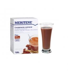 MERITENE FIBRA 14 SOBRES 35 G SABOR CHOCOLATE