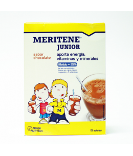 MERITENE JUNIOR 30 G 15 U CHOCOLATE
