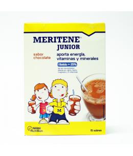 MERITENE JUNIOR 15 SOBRES 30 G SABOR CHOCOLATE
