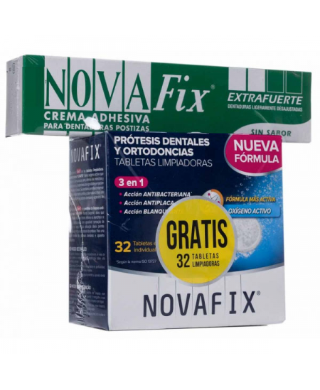 NOVAFIX EXTRA FUERTE ADHESIVO PROTESIS DENTAL 70 G