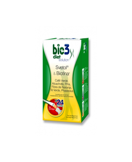 BIO3 DIET SOLUTION 4 G 24 STICKS SOLUBLES