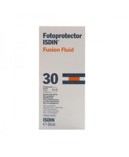 FOTOPROTECTOR ISDIN SPF 30 FUSION FLUID 1 ENVASE 50 ML