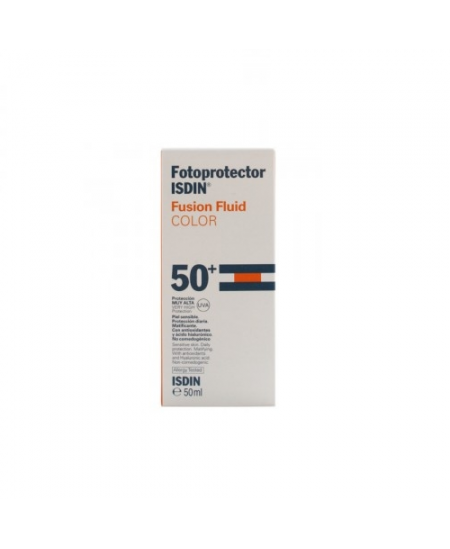FOTOPROTECTOR ISDIN FUSION FLUID COLOR SPF50+ 50 ML
