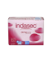 INDASEC DISCREET NORMAL COMPRESA PERDIDAS LEVES 12 ABSORB