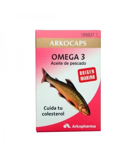 OMEGA 3 ACEITE DE PESCADO ARKOPHARMA 100 CAPSULAS